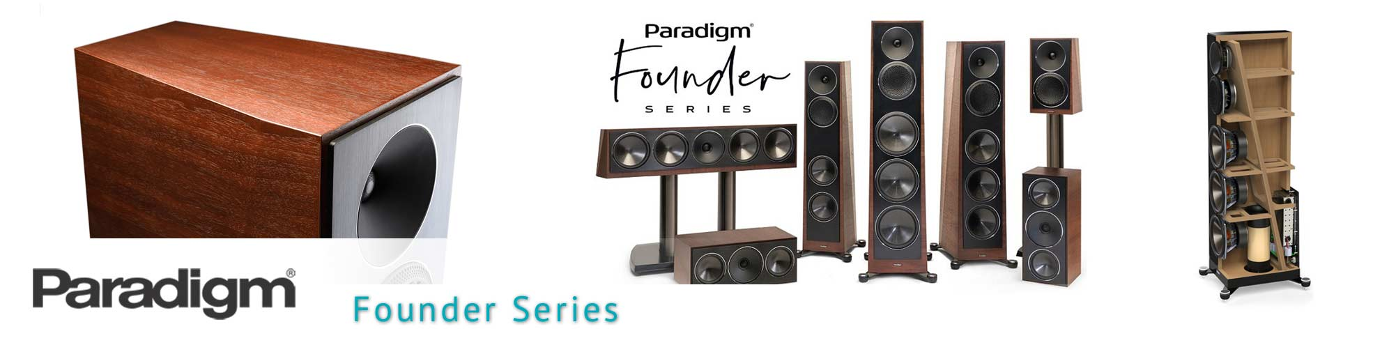 Paradigm Founder Series speakers for home stereo in Orlando, FL