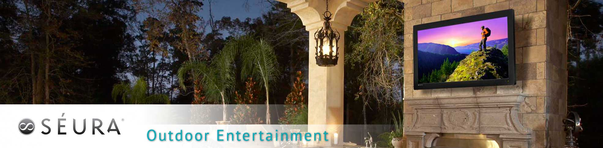 Seura makes weather resistant outdoor televisions for outdoor entertainment in Orlando, FL